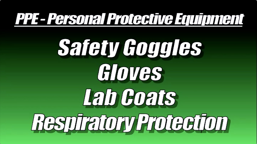 PPE - Lab Safety