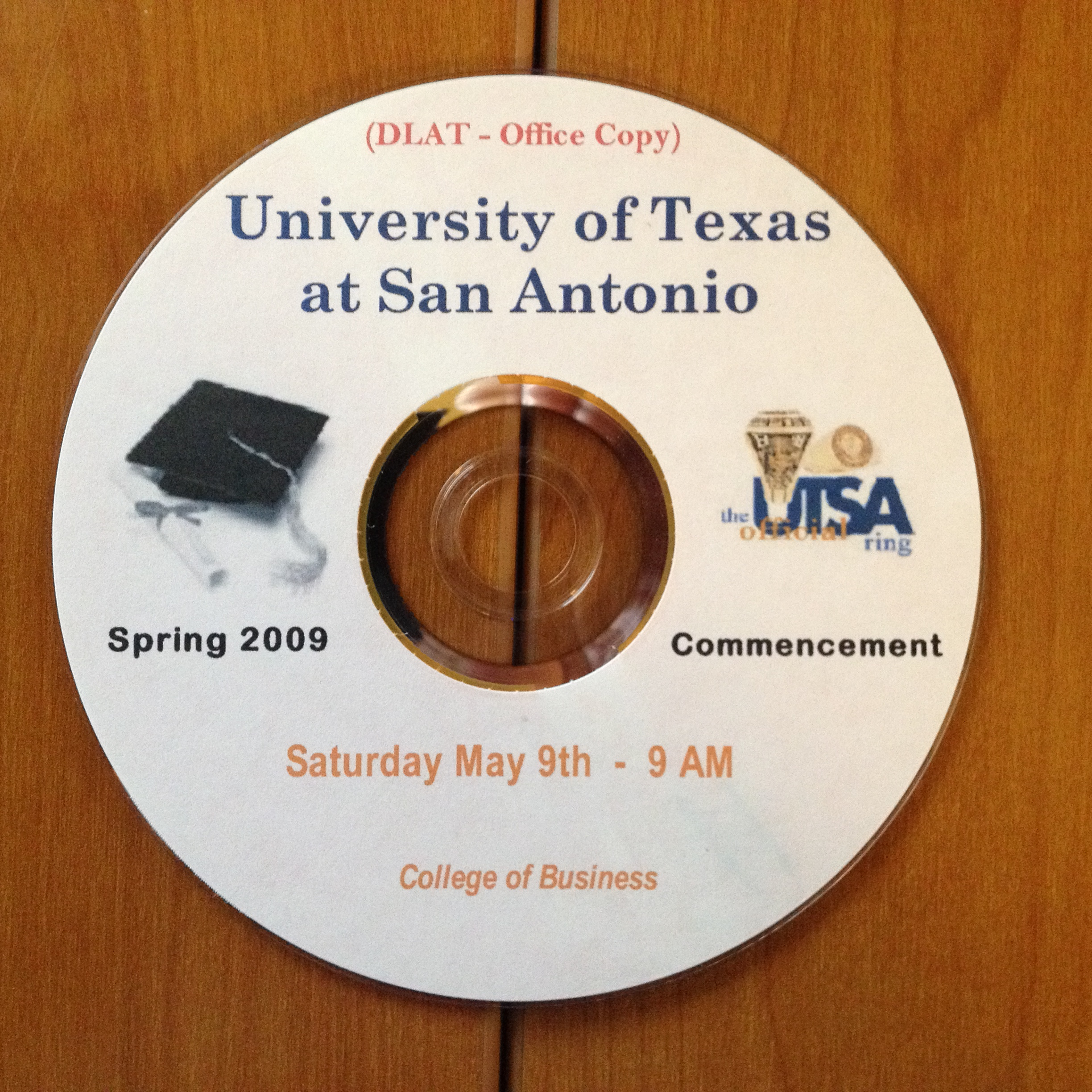 UTSA_2009_Spring_Graduation_BUSINESS