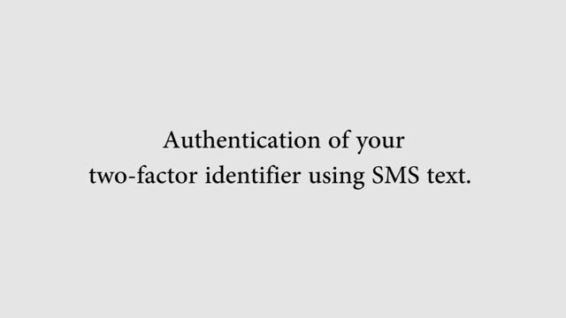 UTSA Toopher help - SMS Authentication